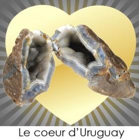 La pierre de coeur d'Uruguay